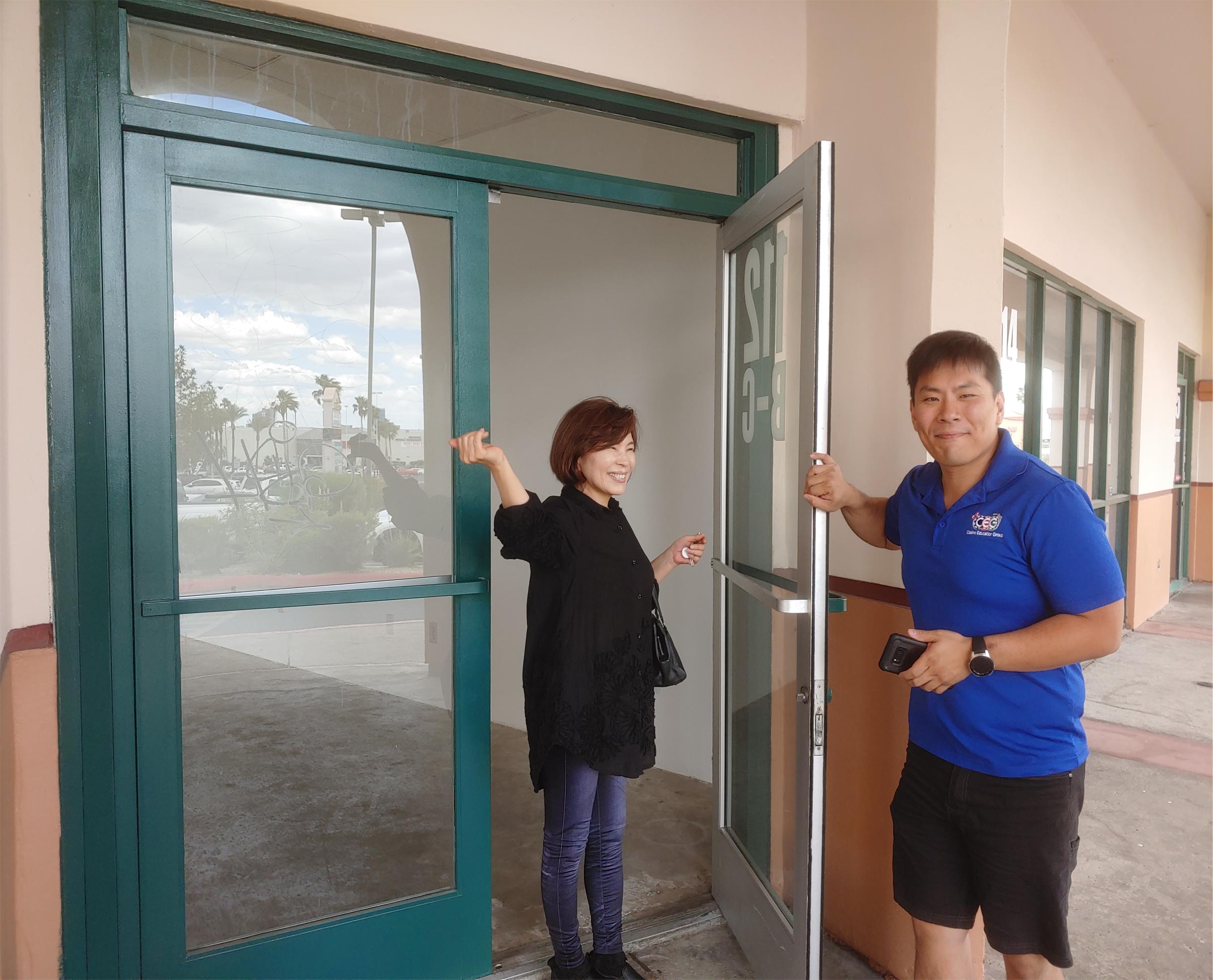 CEG Dealer School New Double Doors